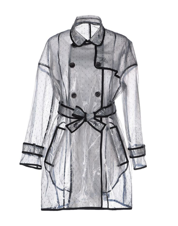 Red valentino Full-length Jacket in Transparent