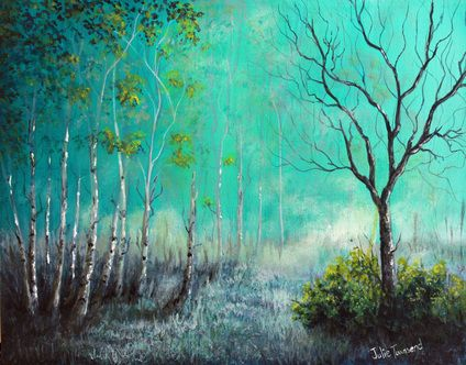 Turquoise Mist, 2015 by Julie Townsend