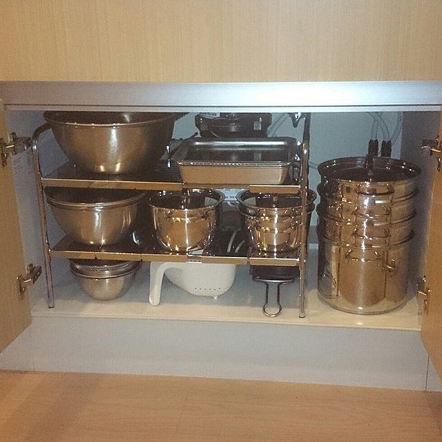 家事を楽にする キッチンのシンク下収納アイデア10選 シンク下 収納 アイデア キッチン 収納 シンク下