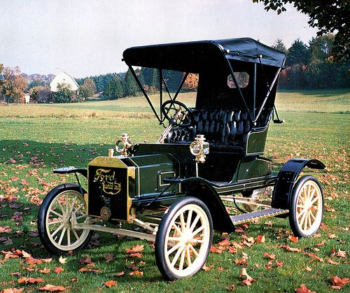1907 Ford Model S Deluxe Runabout....before the T...perfect....