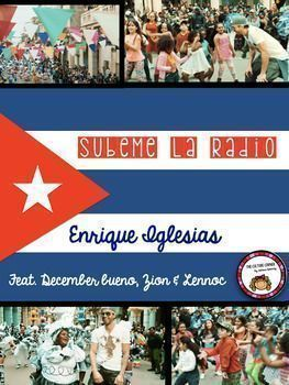 A great and beautiful song. Enrique Iglesias,  Havana Cuba, Authentic Resource, Spanish song for Spanish 1-4. What more could you want? No Prep