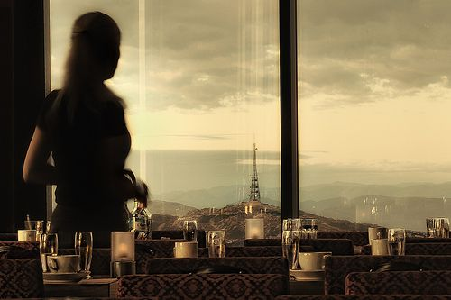 Some restaurants are worth visiting just for their view ... www.skyskraperen.no