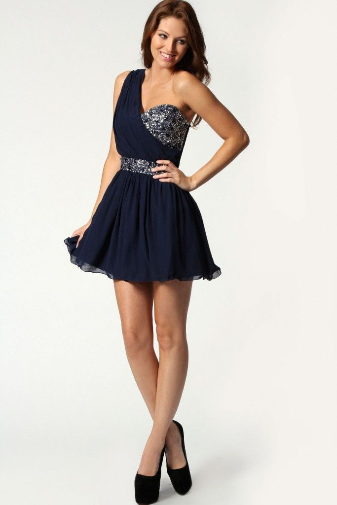 alluring Amazing Navy Party Dress Outfits