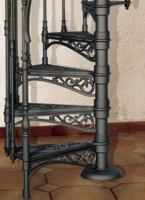 Best Victoria Cast Iron Spiral Stairs By Stair Solutions Curved Staircase Iron Staircase Stairs 400 x 300