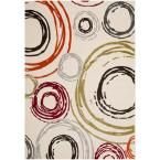 Porcello Ivory 6 ft. 7 in. x 9 ft. 6 in. Area Rug