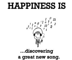 That feeling you get when you discover a new favourite song :)