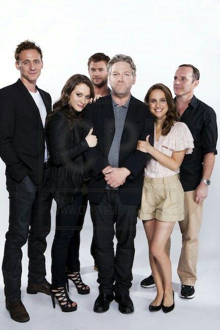 At San Diegon Comic Con Thor: The Dark World Cast
