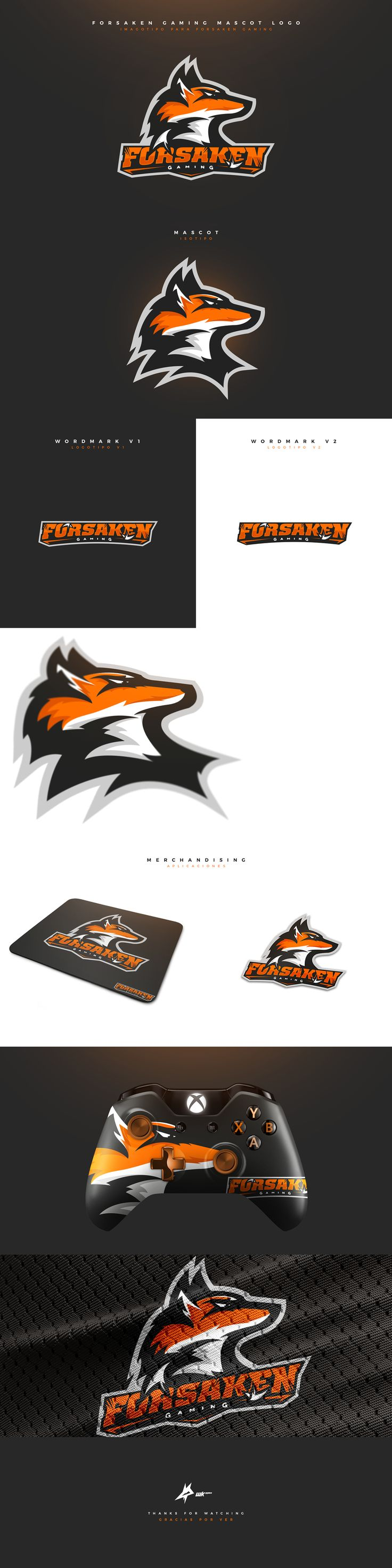 "Check out my @Behance project: ""Forsaken Gaming Mascot Logo."" https://www.behance.net/gallery/47138353/Forsaken-Gaming-Mascot-Logo #mascot #logo #esports #sports #branding #brand #fox #gaming #mascotlogo"