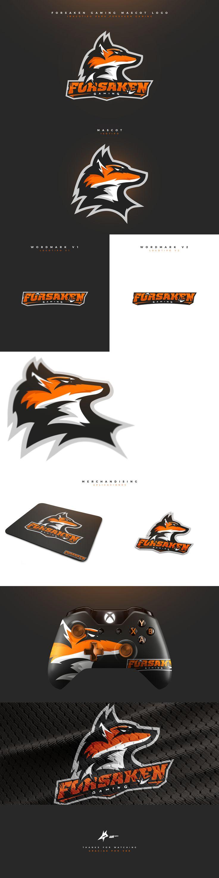 "Check out my @Behance project: ""Forsaken Gaming Mascot Logo."" https://www.behance.net/gallery/47138353/Forsaken-Gaming-Mascot-Logo #mascot #logo #esports #sports #branding #brand #fox #gaming #mascotlogo"