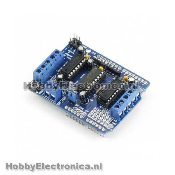 L293D Motor shield Arduino Uno en Mega compatible