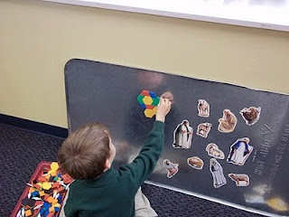 Oil Drip Pan Magnetic Board.  great idea but make sure that you put something around the edges of these pans as they are pressed/punched and the edges can have burrs on them. Some light weight flexible piping will work or small gauge hosing split down the edge and floded over the edge of the tray.  Will help to protect the wall surface as well.