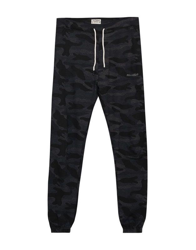 Pantalón jogging logo camuflaje - Novedades - Hombre - PULL&BEAR Guatemala