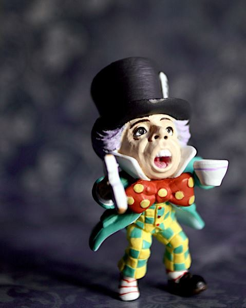 Alice In Wonderland  Mad Hatter  Photograph  Various by BACLORI