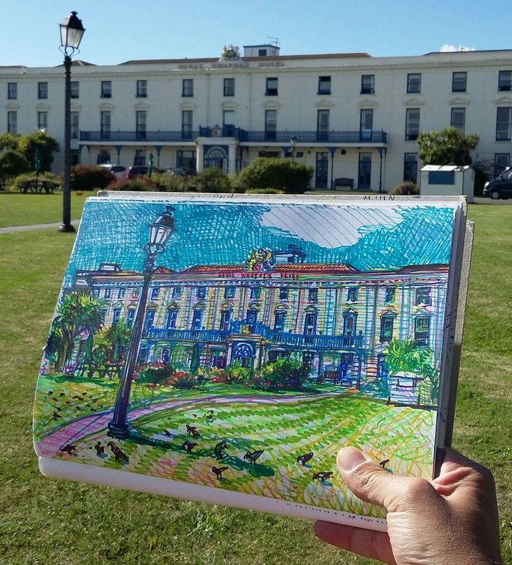 31/07/17, Holidaying in home town, Royal Norfolk Hotel, Bognor Regis, West Sussex
