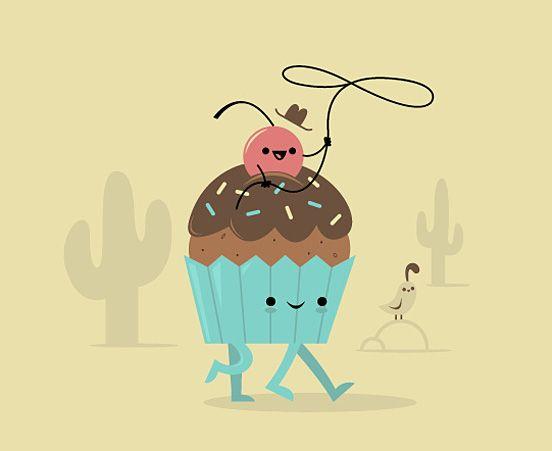 30 ilustrações fofas de Skinny Andy