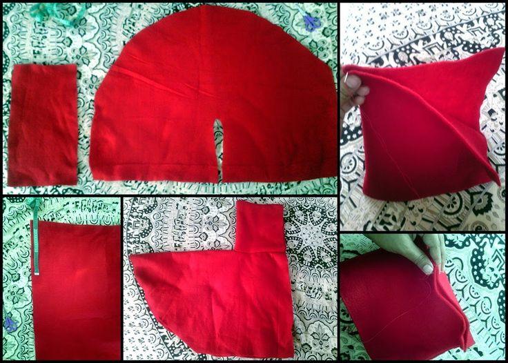 . . . . . . . . . . . . El detalle que hace la diferencia: Disfraz de Caperucita Roja