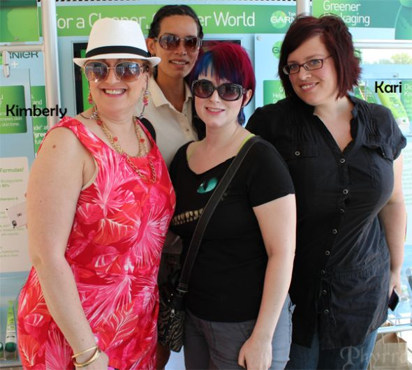 Garnier Greener Tour Event. Click through to see more!