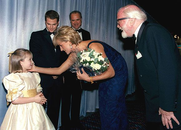 Sir Richard Attenborough's moving account of his friendship with Diana. She has been remembered for her skills at connecting with people. A gift she demonstrated on meeting his granddaughter Lucy Holland, who fluffed her meeting with the royal but was graciously given a second chance to show off her curtsy Photo: © Rex - hellomagazine.com, HELLO!