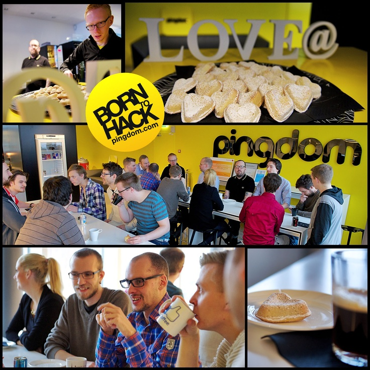 How are you spending your Valentine's Day? We wish you could all have joined us at Pingdom HQ today as we took a little bit of time to celebrate this special day. We hope you all have a great Valentine's Day!