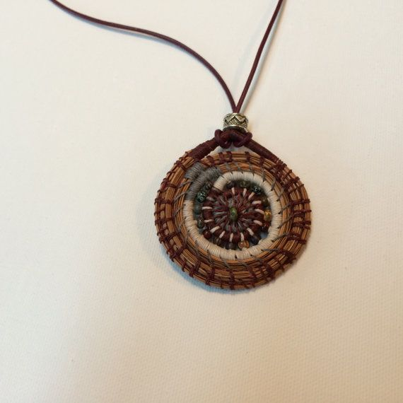 Basket Weaving Jewelry : Best images about pineneedles weaving on