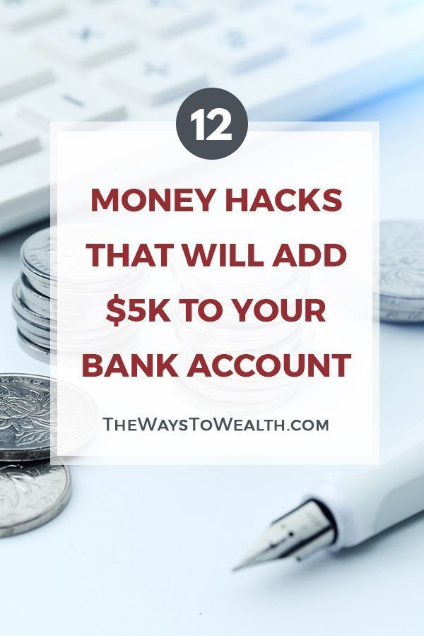 12 Money Hacks That Will Add $5K To Your Bank Account personal finance tips | money saving tips | save more spend less | how to take control of finances | organizing your finances #personalfinance #money #moneymanagement #FinanceBank