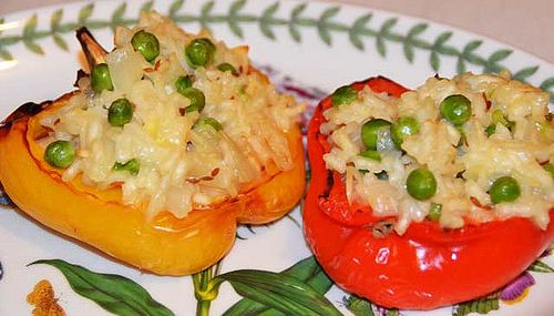 Stuffed Peppers With Rice There are many ways to stuff a pepper and this stuffed pepper with rice is easy and delicious