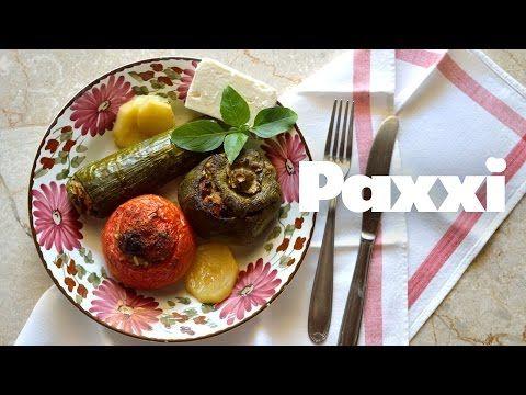 (1) Τα γεμιστά της μαμάς - Paxxi Ε34 - Mum's gemista - YouTube