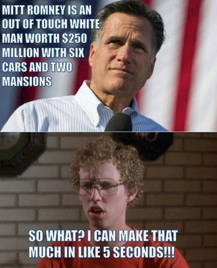 Napoleon dynamite and Mitt Romney