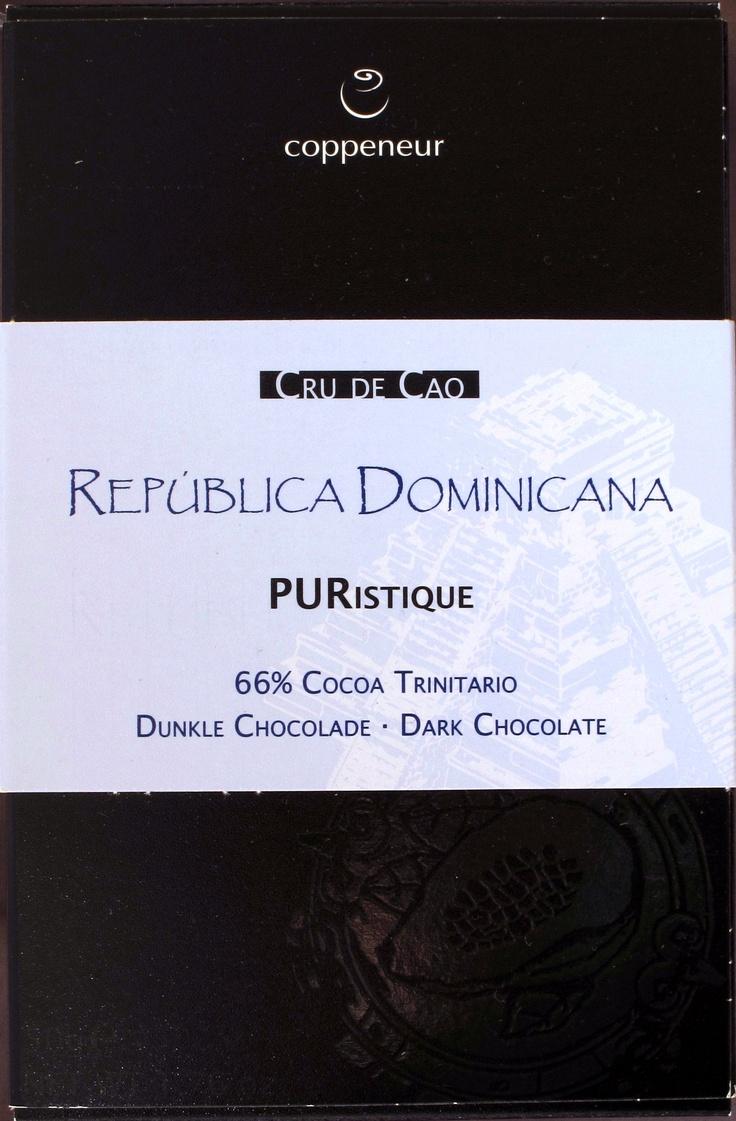 Coppeneur Cru de Cao, República Dominicana, 66% Cacao