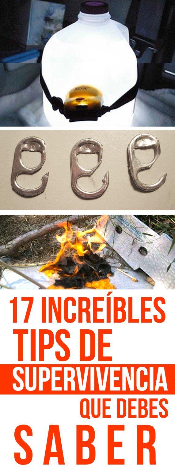 17 Increíbles Tips De Supervivenvicia Que Debes Saber