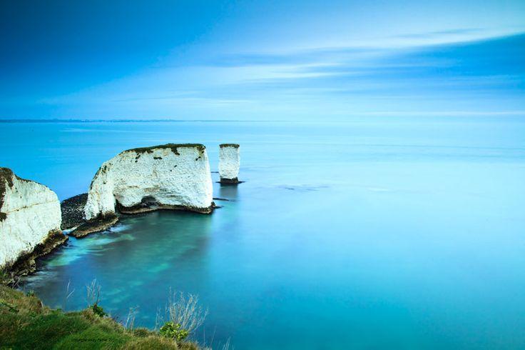 Old Harry Rocks, near Swanage in Dorset
