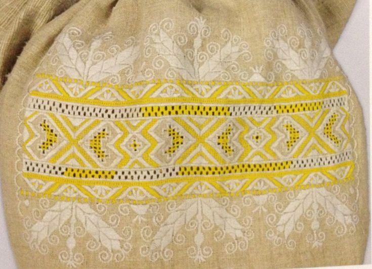 ethnic pattern yellow
