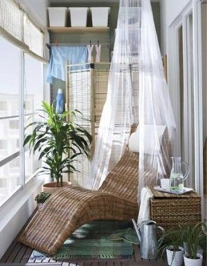 aprovechar el balcon cerrado