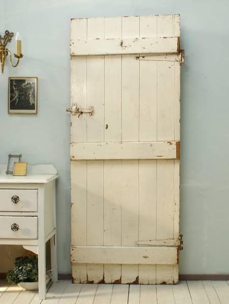 イギリスアンティーク木製ドア扉建具ディスプレイ1321 ¥23000円 〆03月15日