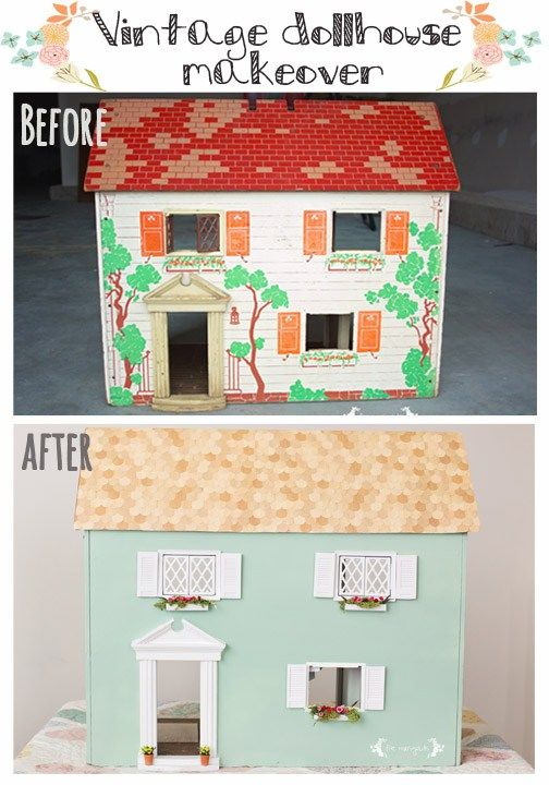 25 Best Ideas About Vintage Dollhouse On Pinterest Dollhouse Ideas Diy Dollhouse And Doll Houses
