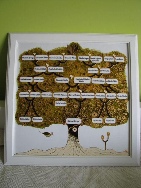 """""""Nászfa"""", """"Arany fa"""" családfa - exkluzív üvegfestmény www.asterglass.hu Burján Eszter 'Aster' üvegfestő művész"""