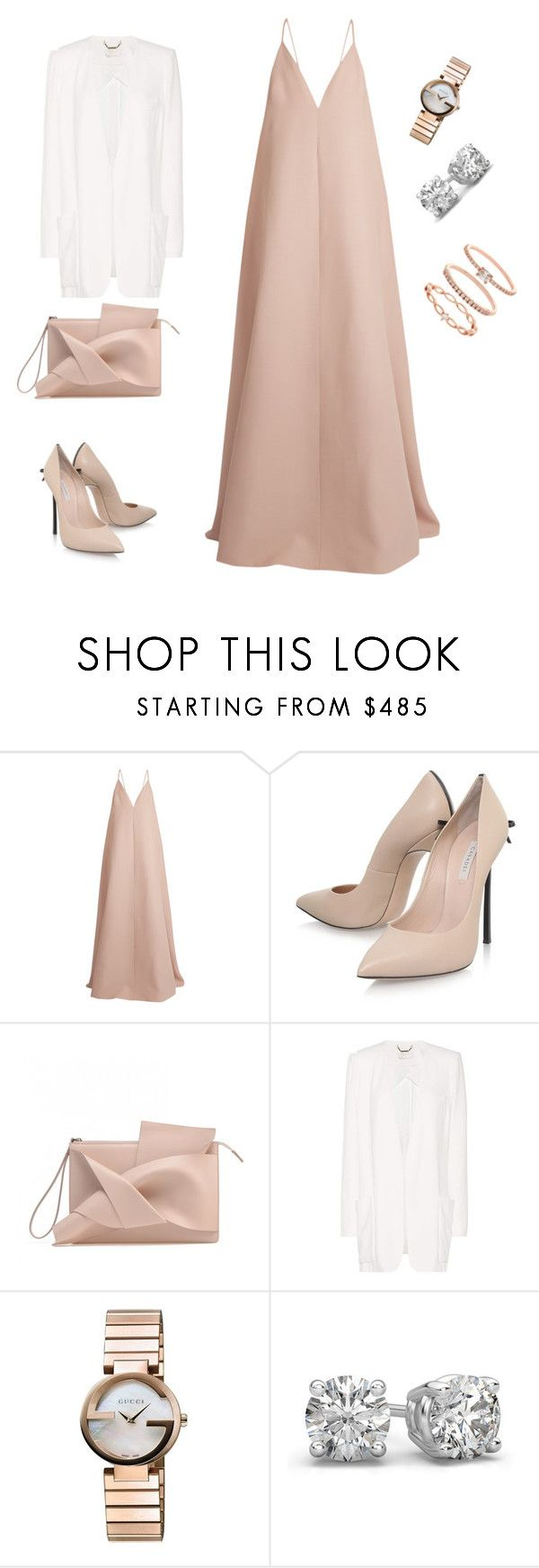 """Untitled #256"" by natalyholly on Polyvore featuring Valentino, Casadei, Chloé, Gucci and Accessorize"