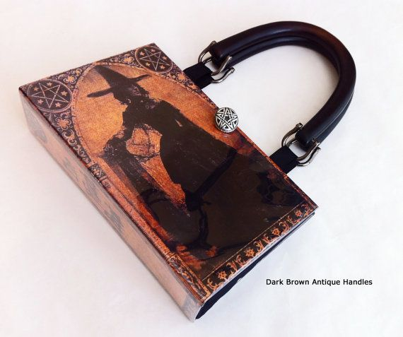 Hey, I found this really awesome Etsy listing at https://www.etsy.com/listing/194398205/witch-book-purse-wiccan-book-purse