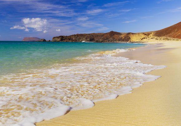 Playa Las Conchas, La Graciosa. Isla de Lanzarote. Islas Canarias