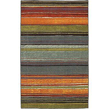 Rainbow Stripe Washable Runner Area Rug Stuff I Like