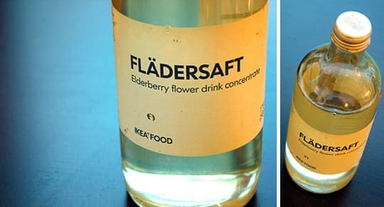 The IKEA Pantry: Elderberry Flower Syrup