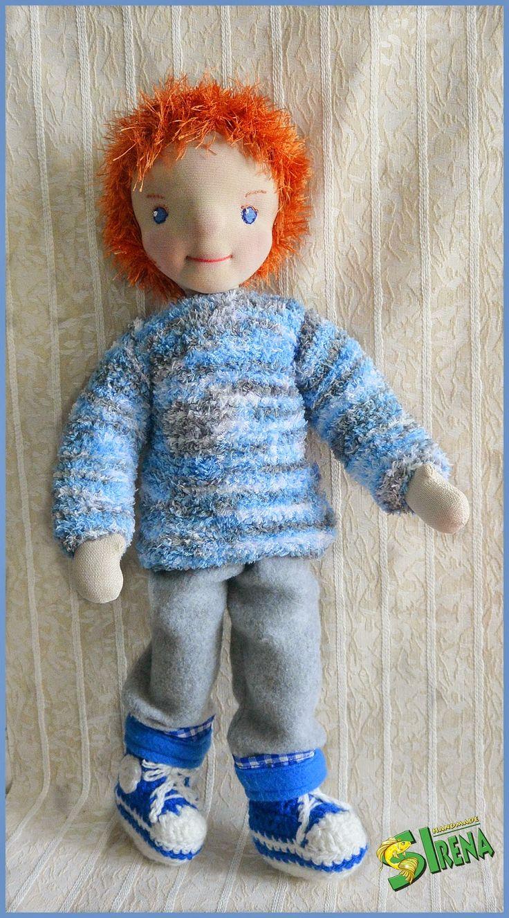 Калейдоскоп фантазий: Вальдорфская кукла