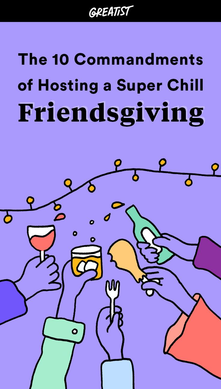 Pass the turkey, bro. #friendsgiving #ideas http://greatist.com/eat/friendsgiving-ideas-for-stress-free-party-hosting