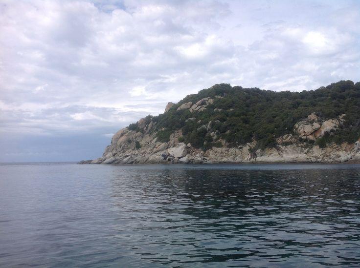 Elba island north side, close to punta della zanca 42.47N 10.7E