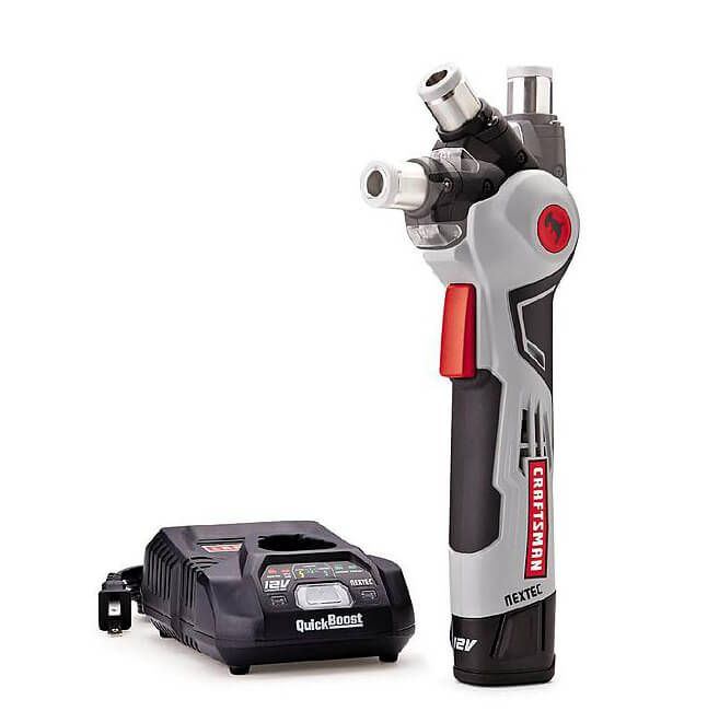Image showing a Craftsman NEXTEC Auto Hammer with its Charger