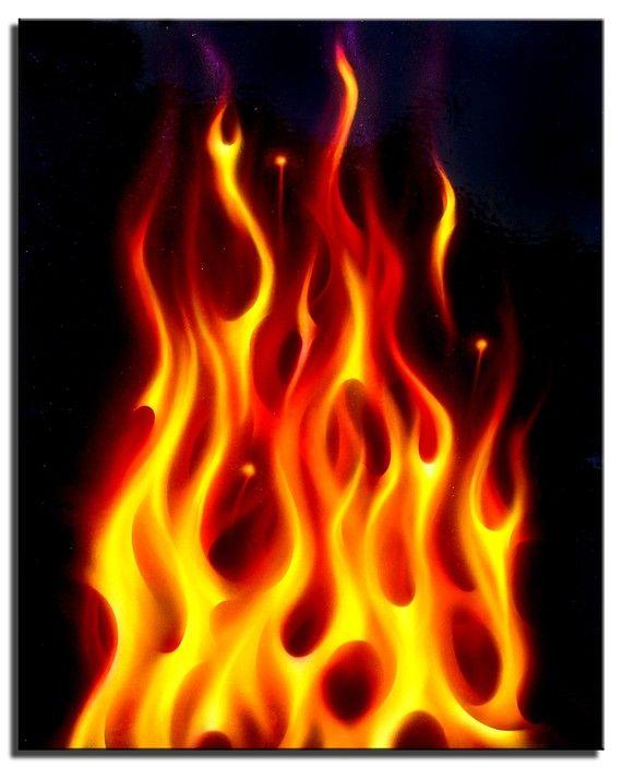 """true fire""."