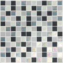 "Coastal Keystones Tropical Thunder 1"" x 1"" Blended Porcelain Multi-Surface Mosaic Tile (Special Order) Sheet Size (12"" x 12"")"