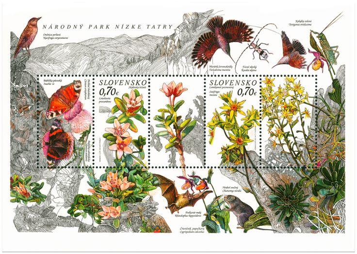 Ochrana prírody: Národný park Nízke Tatry – Lomikameň pozmenený, Skalienka…