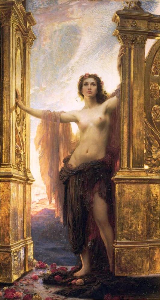 Herbert James Draper, The Gates of Dawn, 1900
