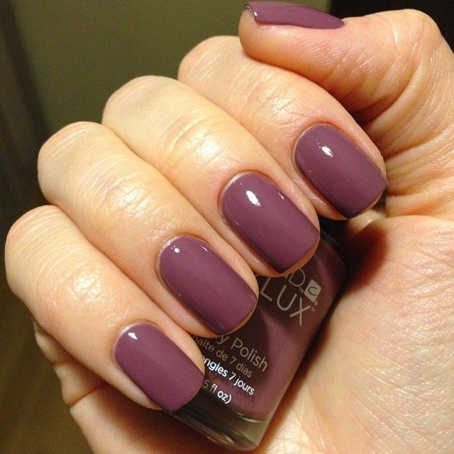 Vinylux - 129 Married to the Mauve swatched by @anastasya310584  #vinylux